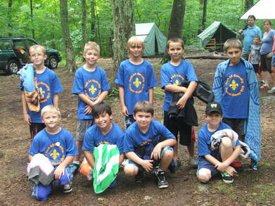 Pack 65 Weblos Camp 2011 T-Shirt Photo