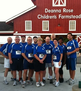 Core Team Before 5 K Race T-Shirt Photo