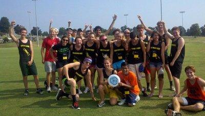 Hold Mah Disc! Frisbee Champions T-Shirt Photo