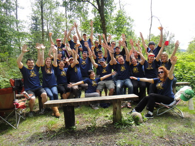 Camp Tluda: Summer Camp For Grownups T-Shirt Photo