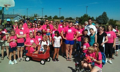 Team Macy Neph Cure Walk 2011 T-Shirt Photo