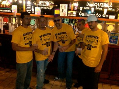 Da Wolfpack Loves A Good Party!! T-Shirt Photo