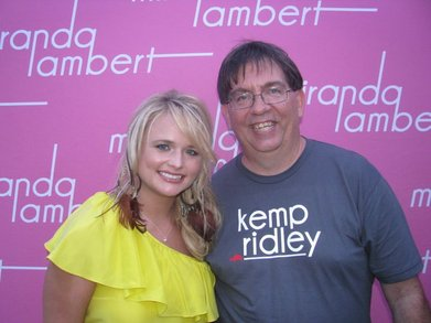 Kemp With Miranda Lambert T-Shirt Photo
