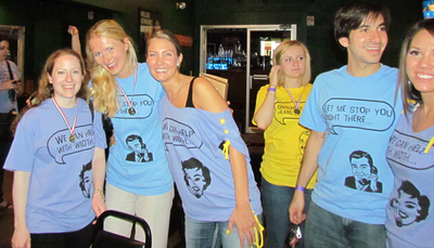 Whirlyball, Y'all!: Signature Forum Company Party T-Shirt Photo