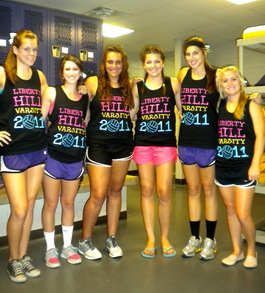 Liberty Hill Lady Panthers  T-Shirt Photo