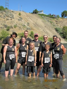 Omak Warrior Dash T-Shirt Photo
