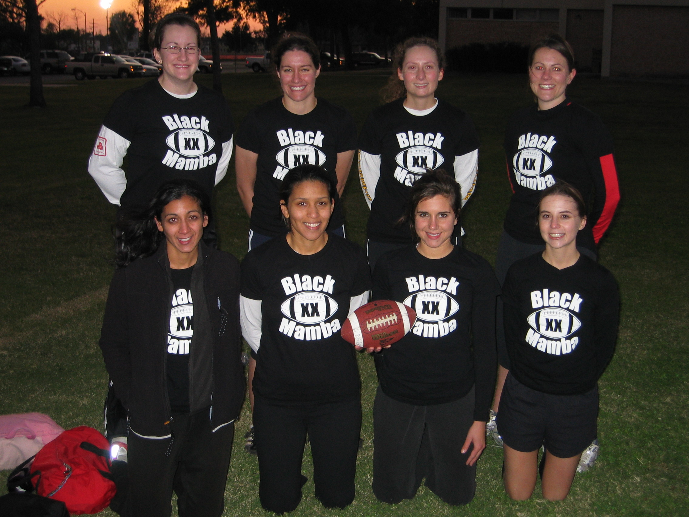 Flag Football Champions! T Shirt Photo