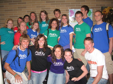 Bryant's Mowing Shirts T-Shirt Photo