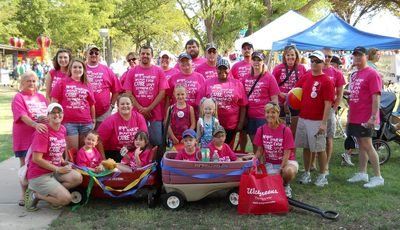 Jdrf Walk To Cure Diabetes  Team Emma Grace T-Shirt Photo