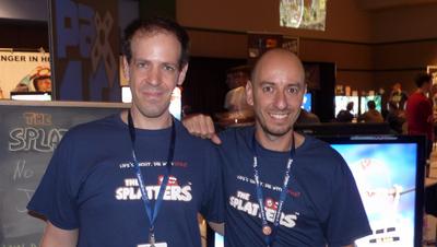The Splatters Game T-Shirt Photo