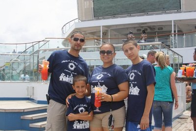 Family Cruise 2011 T-Shirt Photo
