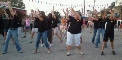 Trenton Elementary Flash Mob T-Shirt Photo