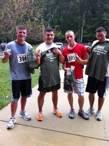 Navy Earle Remembrance Run T-Shirt Photo