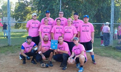 Softball For A Cure   2011 Champions T-Shirt Photo