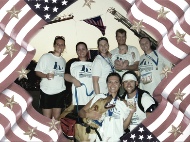 Brookland Tails 9 11 Memorial 5 K At Pentagon T-Shirt Photo