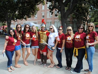 Christine's Usc Bachelorette Party T-Shirt Photo