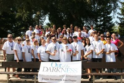 Megan Lee Meadow's Suicide Prevention Walk T-Shirt Photo