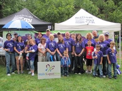 Kc Lupus Walk 2011 T-Shirt Photo
