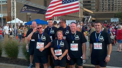 Mdng @ 9/11 5 K  9/10/2011 T-Shirt Photo