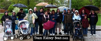 Team Kidney Bean 2011 T-Shirt Photo