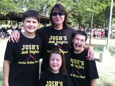 Juvenile Diabetes Research Foundation Walk T-Shirt Photo
