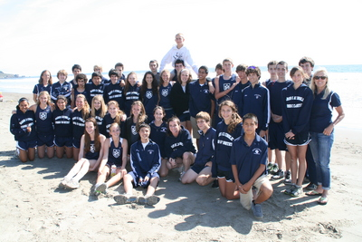 Cross Country At The Beach T-Shirt Photo