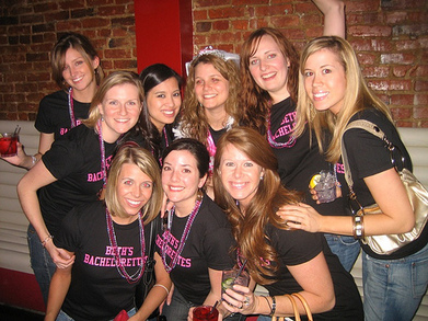 Beth's Bachelorettes T-Shirt Photo