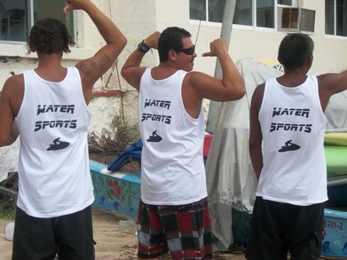 Check Out These Muscle Shirts! T-Shirt Photo