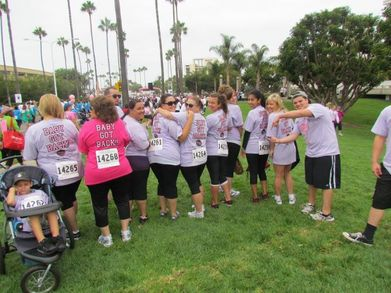 Race For The Cure  Who Needs The Front..When.... T-Shirt Photo