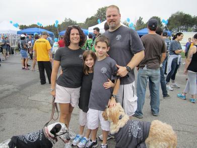 Suicide Awareness & Prevention Walk Team Sharpe T-Shirt Photo