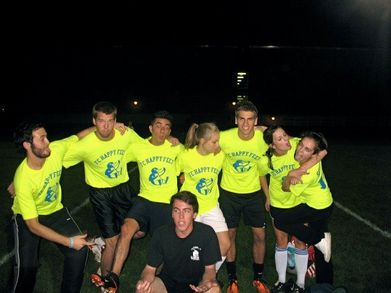 Fc Happy Feet Playoff Bound! T-Shirt Photo