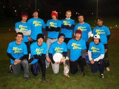 Hoove's Hitmen Intramural Ultimate Team T-Shirt Photo