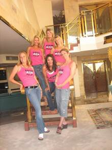 "Las Vegas ""Mob""!  (Mommies On Break) T-Shirt Photo"