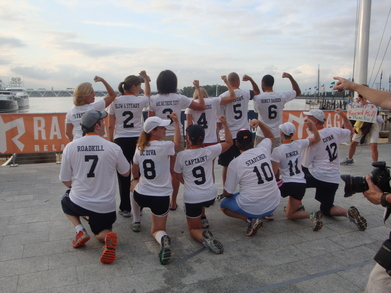 Ragnar Relay Dc   Fakers Dozen T-Shirt Photo