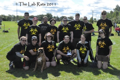 Lab Rats Kickball Team T-Shirt Photo