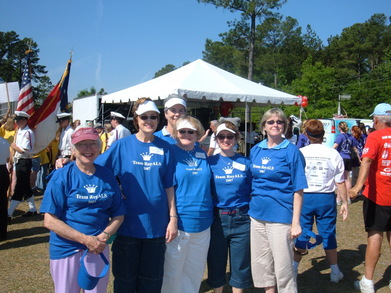 Team Roy Als At The Walk To D'feet Als T-Shirt Photo