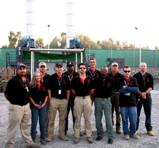 Fob Fenty Pyro Team.  The Hottest Crew In Afghanistan. T-Shirt Photo
