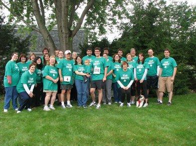 Team Doherty Hospice Walk 2011 T-Shirt Photo