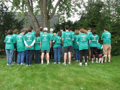 Team Doherty Hospice Walk 2011 T-Shirt Photo