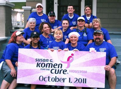 Susan G. Komen   Race For The Cure T-Shirt Photo