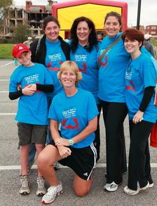 Team Tjt At The Finish Line! T-Shirt Photo