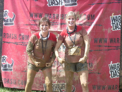 Custom Ink Does The Warrior Dash! T-Shirt Photo