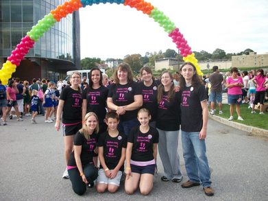 Cancer Walk 2011 T-Shirt Photo
