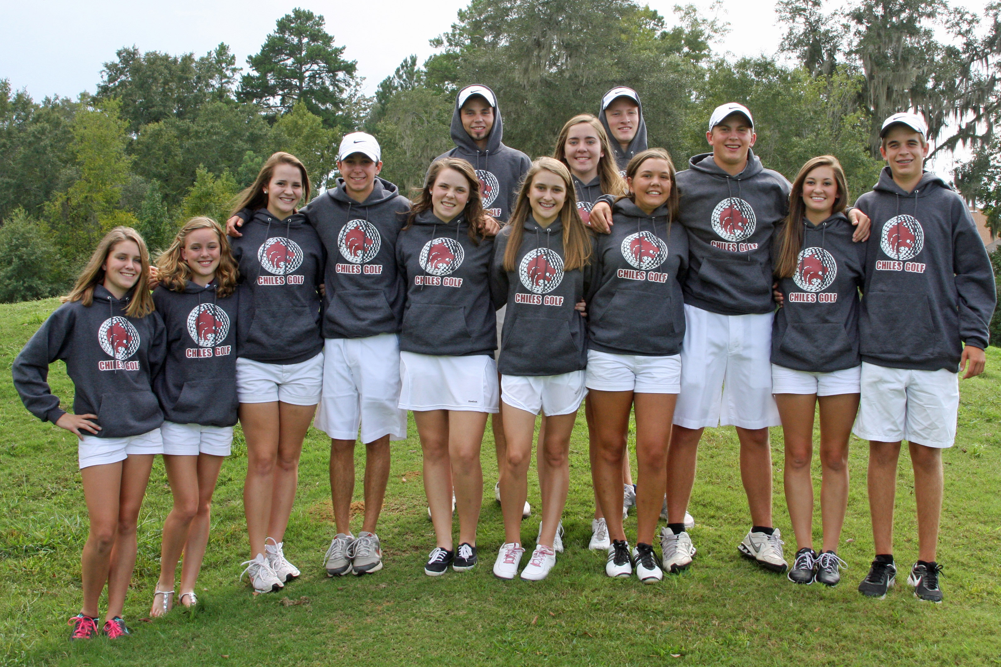 Custom T-Shirts for Chiles High School Golf Team - Shirt Design Ideas
