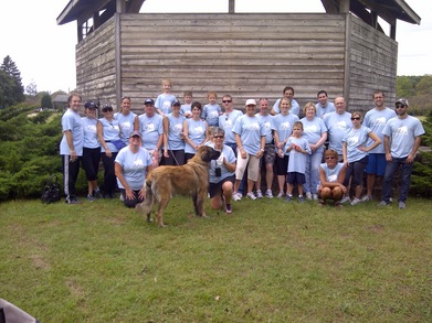 Team Barb   Free To Breathe Lung Cancer Walk Team T-Shirt Photo