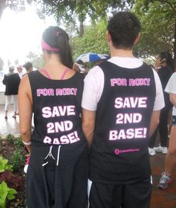 Save 2nd Base T-Shirt Photo