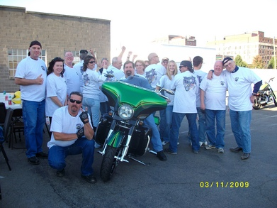 Riding For Meals On Wheels T-Shirt Photo
