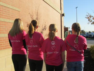 Chloe's Cure For Diabetes T-Shirt Photo
