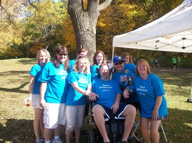 Annual Als Walk T-Shirt Photo