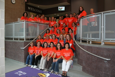 Unity Day At Downsville Central School T-Shirt Photo